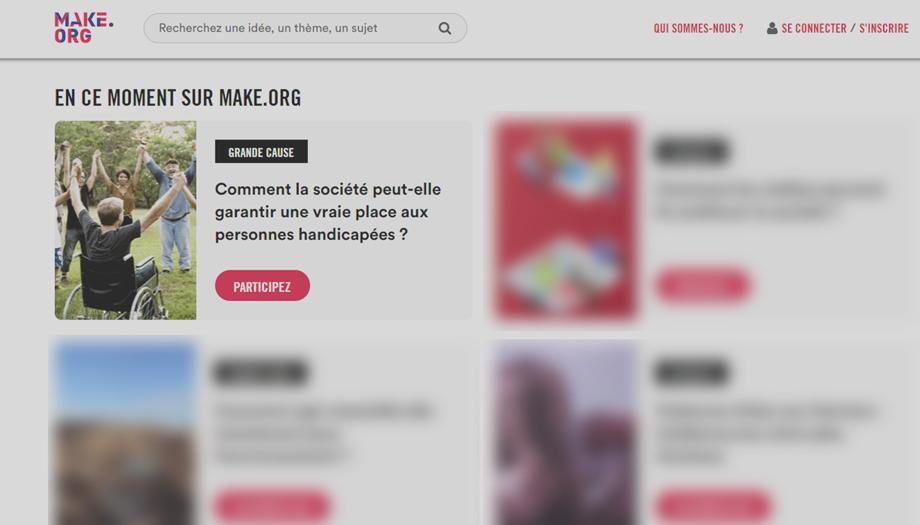 Image du site make.org