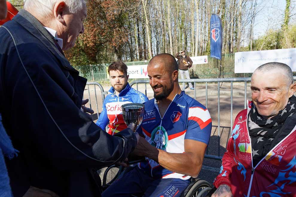 Riad Tarsim, vainqueur en catégorie MH3 du Critérium de Longchamp David Franek 2019. Crédit : CRIFH/O.HEPIEGNE