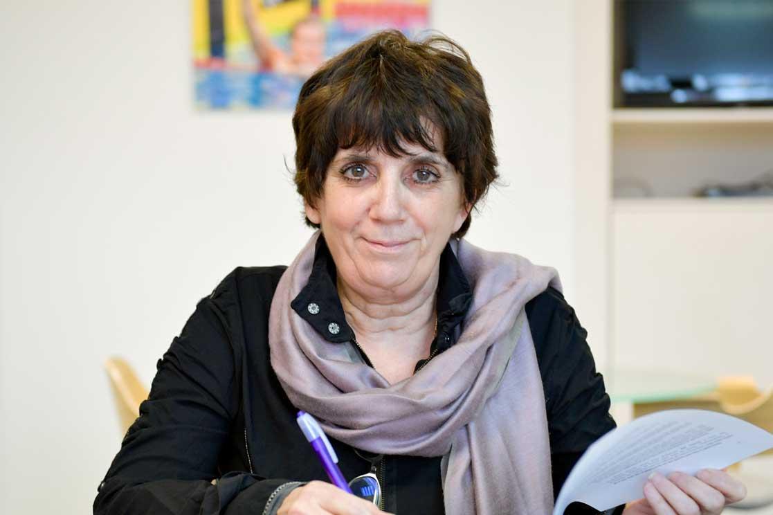 Guislaine Westelynck, Présidente de la Fédération Française Handisport
