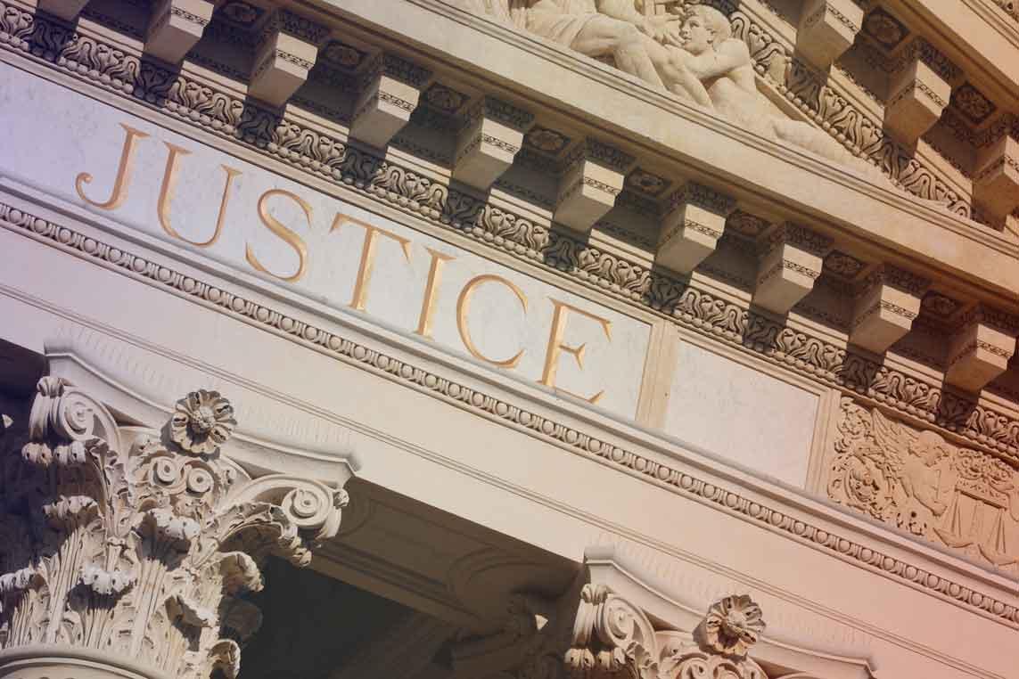Photo : palais de justice